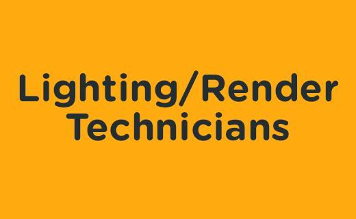 Lighting/Render Technicians